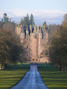 Glamis castle (pronounced Glams) Scotland