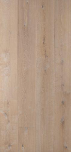Eiken duoplank, geschraapt en wit geolied. Natural collectie: ALASKA 26 cm breed
