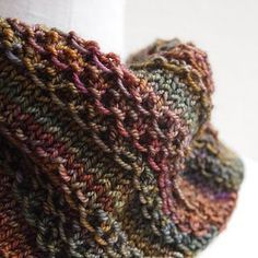 A lovely little scarf by Susan Ashcroft (and thanks for complimentary pattern) perfect for that special skein of sock yarn....