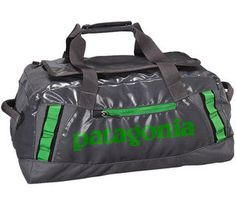 40% off this tough...Black Hole Duffel 45L #Patagonia at RockCreek.com as long supplies last