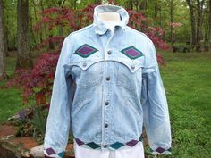 Vintage distressed Levis denim jacket Add this to your closet Follow Paula Dean to Woodyswag Recycle 4 U http://woodyswag.com/