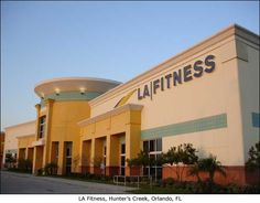 LA Fitness in hunter's creek Orlando    www.urbanaluxuryapts.com