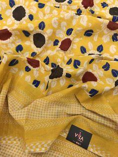 Printed Kalamkari cotton saree with printed blouse PC with rich pallu Kalamkari Saree, Cotton Saree, Printed Blouse, Boutique, Prints, Collection, Boutiques