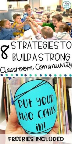 Looking for lesson plans and strategies for building a strong classroom community in your elementary classroom? These activities and suggested books are perfect for your students during the first week of school and all year long, too! Morning Meeting Activities, First Day Of School Activities, Morning Meetings, Class Meetings, Class Building Activities, Classroom Activities, Classroom Ideas, Classroom Procedures, Daily Activities