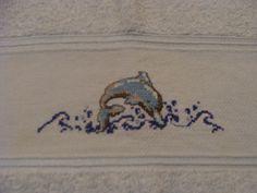Toalha de golfinho