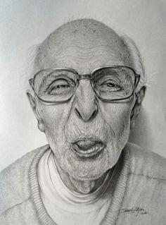 """""""Mądrość życiowa"""" Pencils drawing Edyta Suszek"""