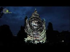 Helios, Projection Mapping for Skyway, Toruń, Poland, Official Video 3d Projection Mapping, Nicolaus Copernicus, In His Time, New Media Art, Medium Art, Installation Art, Poland, Earth, Digital