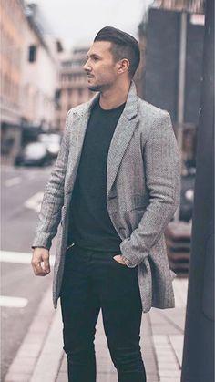 44 Classy Business Casual Outfit Idea for Men - Stili di moda maschile - Men Mode Masculine, Look Fashion, Winter Fashion, Fashion Photo, Classy Fashion, Fashion Outfits, Trendy Fashion, Fashion Trends, Style Costume Homme