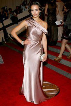 Jessica Alba in Sophie Theallet for Gap (2010)