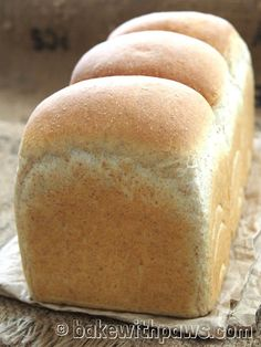 BAKE WITH PAWS: WHOLEMEAL BREAD