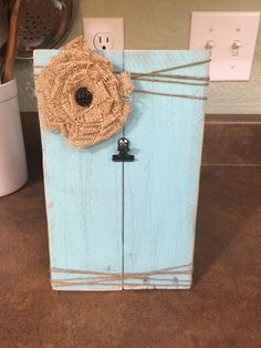 Pallet Photo Plaque
