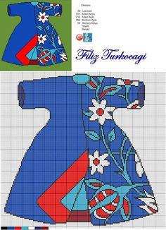 Designed by Filiz Türkocağı. Cross Stitch Cushion, Tiny Cross Stitch, Cross Stitch Flowers, Modern Cross Stitch, Cross Stitch Designs, Cross Stitch Patterns, Cross Stitching, Cross Stitch Embroidery, Embroidery Patterns