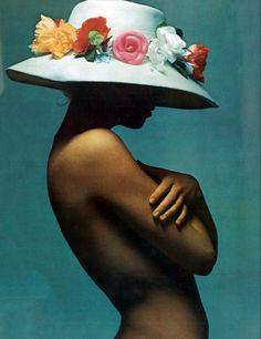 Vogue Paris, April 1970. Talitha Getty by Gerard Marthinet.