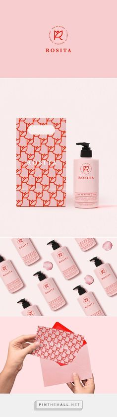 Lovely! Rosita is a fictitious brand of rose water. Designed by JOAM