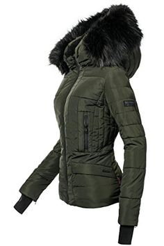 Buy Navahoo quilted jacket Adele high quality winter jacket with fine faux fur hood online OTTO Navahoo Steppjacke Adele hochwertige Winterjacke mit edler Kunstpelz Kapuze online kaufen Modern Outfits, Casual Outfits, Cool Outfits, Packable Jacket, Outfit Jeans, Winter Jackets Women, Gray Jacket, Black Ski Jacket, Outerwear Women