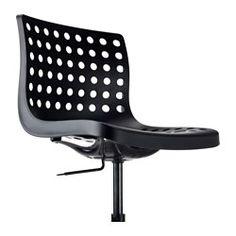 SKÅLBERG / SPORREN Swivel chair - black, - - IKEA