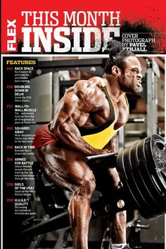 Jan 2013 Flex Magazine Issue