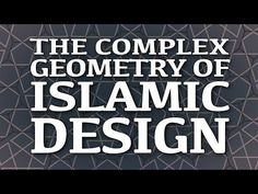 In Islamic culture, geometric design is everywhere: you can find it in mosques, madrasas, palaces, and private homes. And despite the remarkable complexity of these designs, they can be created with just a compass to draw circles and a ruler to make lines within them. Eric Broug covers the basics of geometric Islamic design.