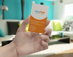 "Check out new work on my @Behance portfolio: ""EasyFeel business cards"" http://be.net/gallery/46059637/EasyFeel-business-cards"