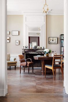 Office. Interiors of the home of food writer Mimi Thorisson - which she shares with husband, 7 children and 9 dogs. Interior design inspiration from real homes on House & Garden.