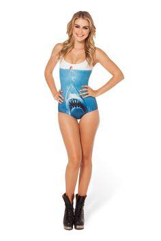 Shark vs Mermaid Swimsuit › Black Milk Clothing