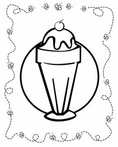 food coloring pages for kids