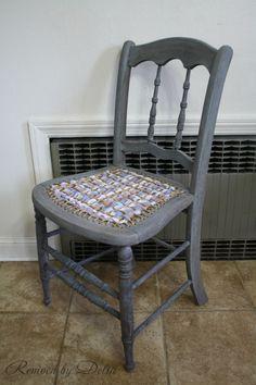 Raggedy Chic Chair