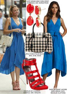 Gossip Girl Fashion: Copy Blake Lively's Blue Dress