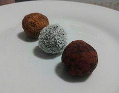 Receita: Bolinhas de tâmara / Protein ball - Bom é ser feliz...