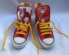 d2cdaf36b55 Flash Converse Sneakers by certainclouds on Etsy Flash Converse