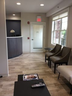 Business Interior Remodel - Dental Office - Mannington Adura Dockside Luxury Vinyl Plank