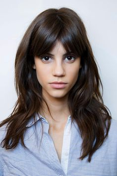 The Most Popular Summer Haircuts for 2015 - medium length hair with fringe bangs
