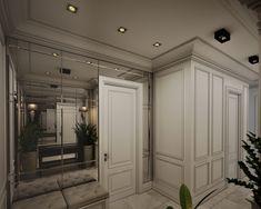 Фото из статьи: Трёхкомнатная квартира в московской «сталинке»: современная классика в серых тонах