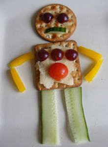 More build your own robot snack ideas