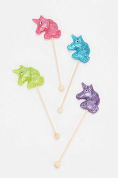 Unicorn Lollipop - Set Of 4