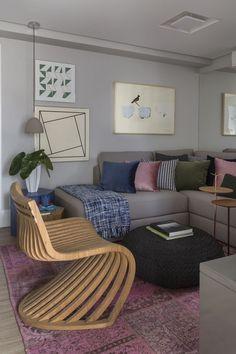 SP (70 m²) - Arquitetas Laura Losasso e Natalia Porto, do escritório Porto…