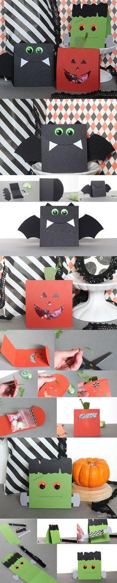 Bolsitas carameleras para Halloween http://www.wonkis.com.ar/2013/10/bolsitas-carameleras-para-halloween/