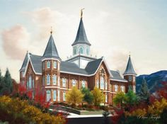 Provo City Center Temple by Brent Borup