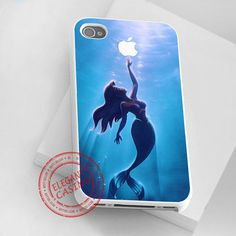 iphone 4/4s case - iphone 5 case - samsung galaxy s3 - samsung galaxy s4 - The Little Mermaid Aplle Ariel - photo print on hard plastic