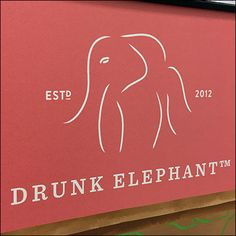 It would certainly be difficult to outdo the image of this Drunk-Elephant Branded Cosmetics Display. The iconic Drunk Elephant logo is an excellent. Elephant Logo, Drunk Elephant, Retail Fixtures, Cosmetic Display, Makeup Kit, Personal Branding, Clear Acrylic, Close Up, Sephora