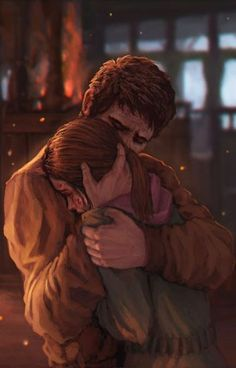 "Joel and Ellie ""Baby Girl"" The Last of Us."