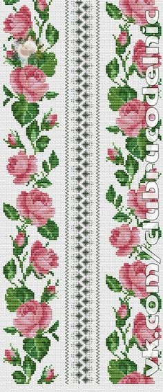 This Pin was discovered by Emb Cross Stitch Heart, Beaded Cross Stitch, Cross Stitch Borders, Cross Stitch Flowers, Cross Stitch Kits, Cross Stitch Designs, Cross Stitching, Cross Stitch Patterns, Crewel Embroidery