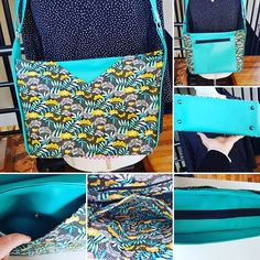 pcy76 maintenant qu'il est offert je peux vous le montrer.... un sac mambo en simili et coton tropical pour ma maman ...patron sacotin off course.... #mambo #sacotin #LPCY76