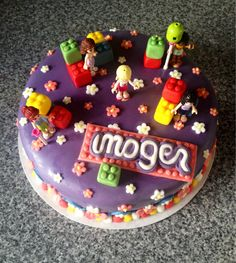 Lego Friends cake! :) x