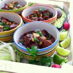 EASY Posole - Pork & Hominy Stew