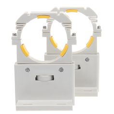 2pcs CO2 Láser base ajustable del soporte alto del tubo para 75-180W Láser tubo