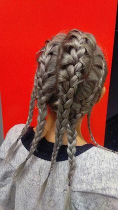 Gray hair colour  www.edensalon.it