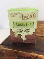 Original Italian Leone Pastilles Sweets In Vintage Style Absinthe 30g