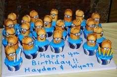 despicable me party ideas | Despicable Me 4th Birthday - Newlyweds