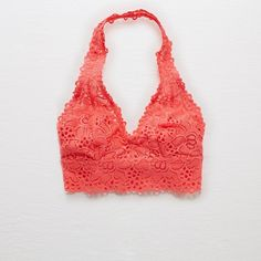 11e4760138 Aerie Halter Boho Bralette ( 10) ❤ liked on Polyvore featuring intimates
